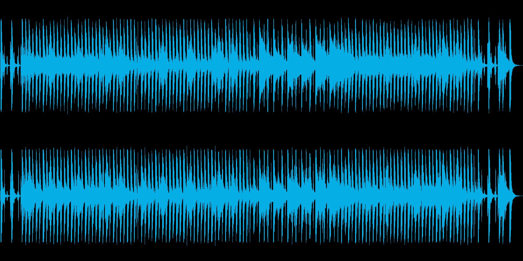 口笛とバンジョーのトラッドジャズの再生済みの波形