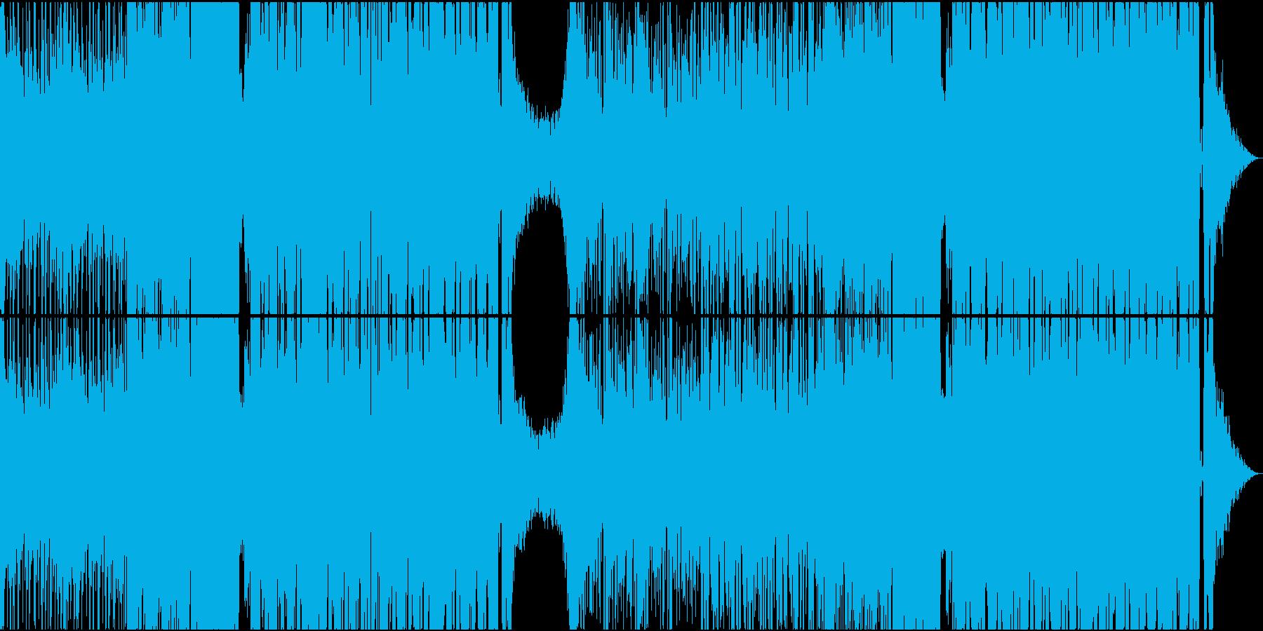 映画に出てきそうなダークなEDM の再生済みの波形