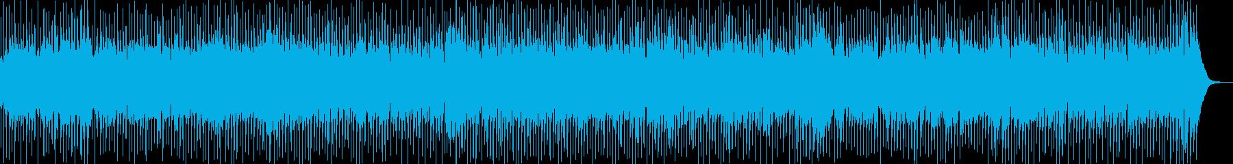 爽やかな夏のフュージョンサウンドの再生済みの波形