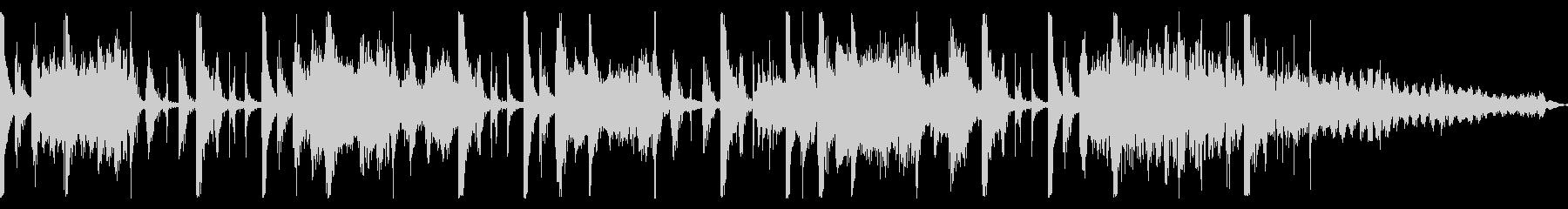 ムーディーなレトロフューチャーサウンドの未再生の波形