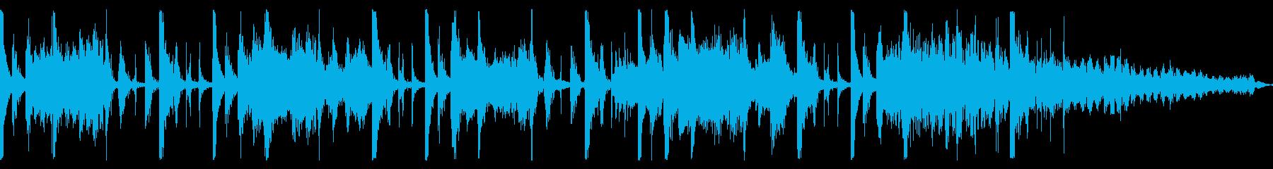ムーディーなレトロフューチャーサウンドの再生済みの波形