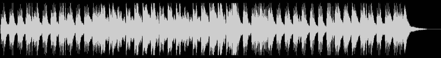しっとりとしたスロウなピアノソロの未再生の波形