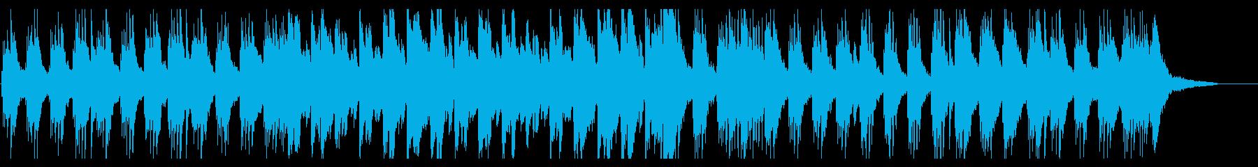 しっとりとしたスロウなピアノソロの再生済みの波形
