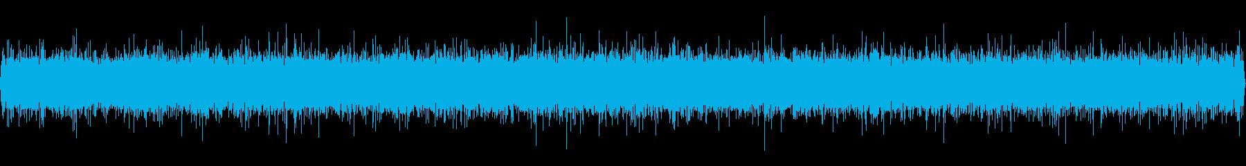大規模なストリーム:高速で活発なバ...の再生済みの波形