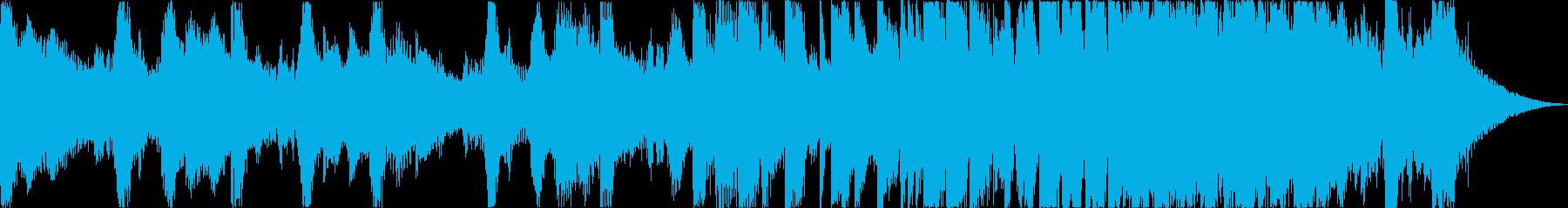 爽やか洋楽チルアウトフューチャーベースeの再生済みの波形