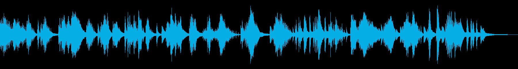 暗く湿った伝統的な和風曲14-ピアノソロの再生済みの波形