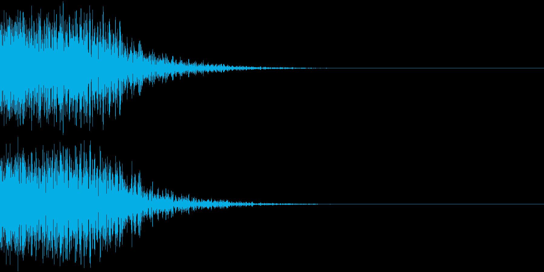 ホラー 怪談 衝撃 びっくり 怖い 17の再生済みの波形
