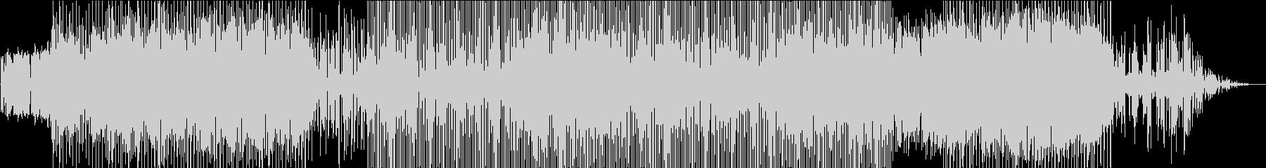 力強いビート大地を感じるピアノの未再生の波形