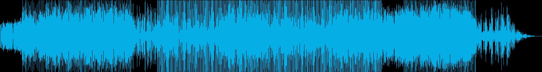 力強いビート大地を感じるピアノの再生済みの波形