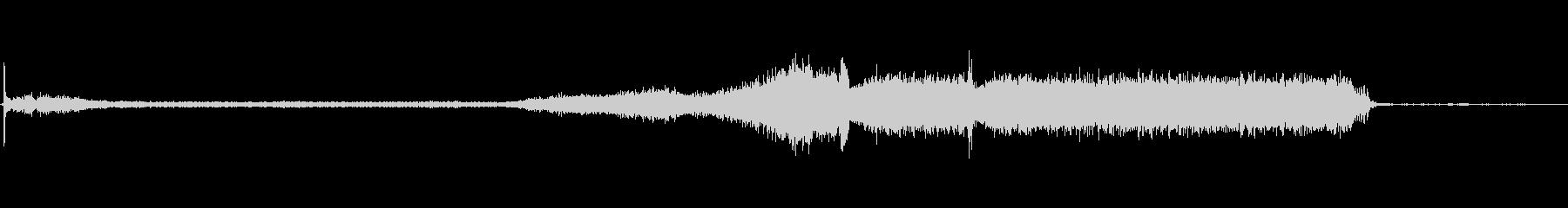 EXT:距離を置いて開始、Lからプ...の未再生の波形