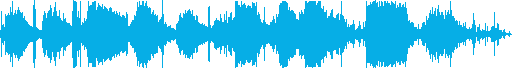 【SF映画シーン】 プログラム操作の再生済みの波形