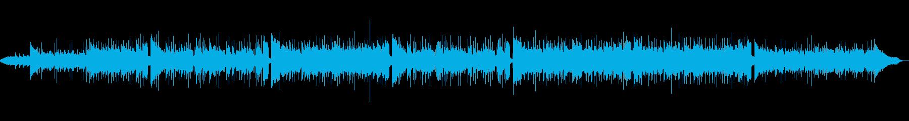 アコギがメインの優しいクリスマス曲の再生済みの波形