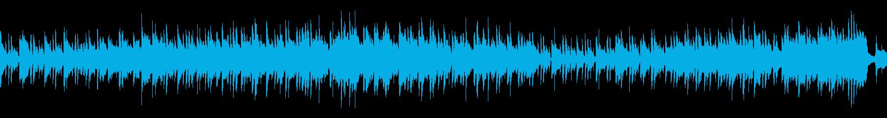 【メロなし/ループ】哀愁のボサノバの再生済みの波形