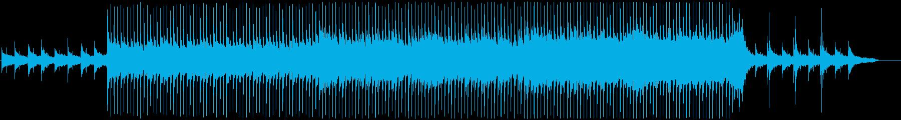 VP系14、高揚感と疾走感のあるロックBの再生済みの波形