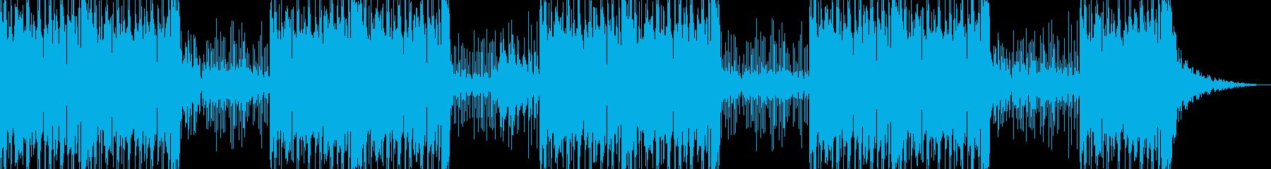 イントロなしの再生済みの波形