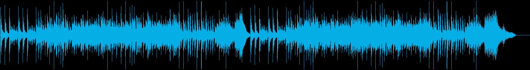 和楽器が印象的な「さくらさくら」の再生済みの波形