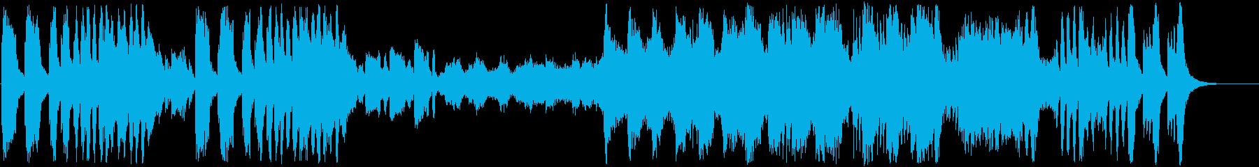 ピアノ協奏曲第25番第1楽章モーツァルトの再生済みの波形