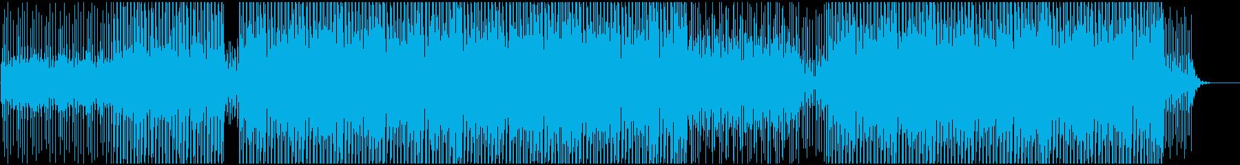 企業VPやCMに 適度なEDM風の音使いの再生済みの波形