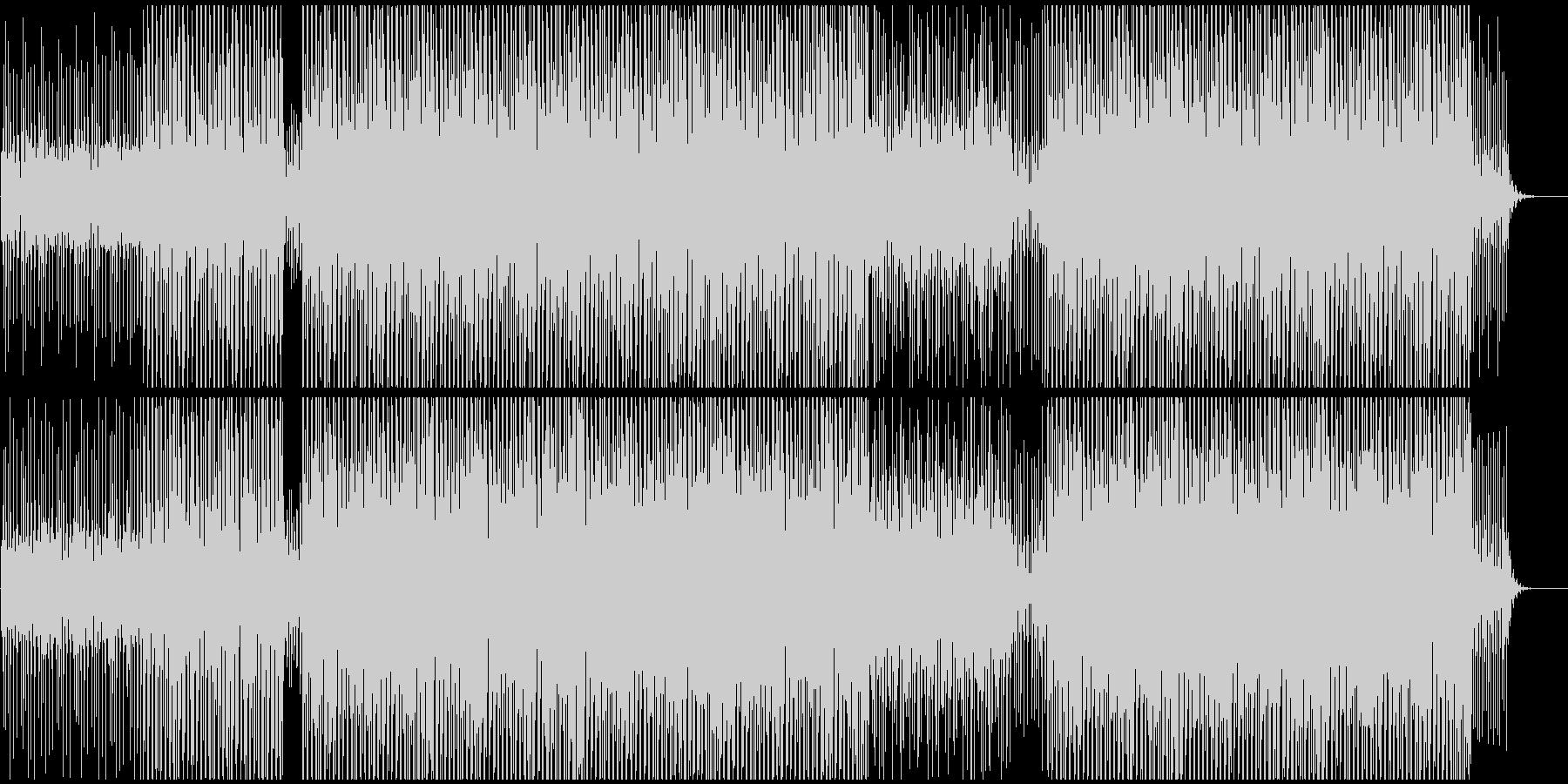 企業VPやCMに 適度なEDM風の音使いの未再生の波形