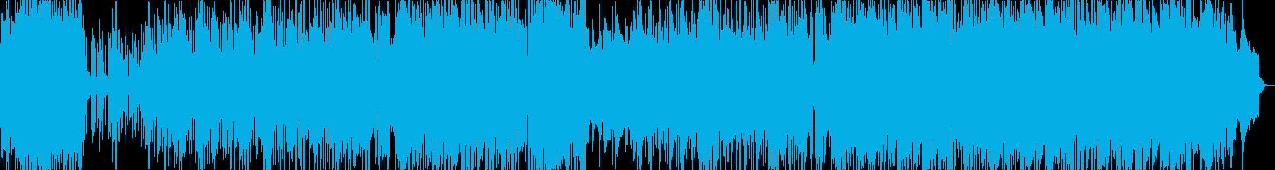 ポップでキャッチーな歌もの元気ピアノ繊細の再生済みの波形