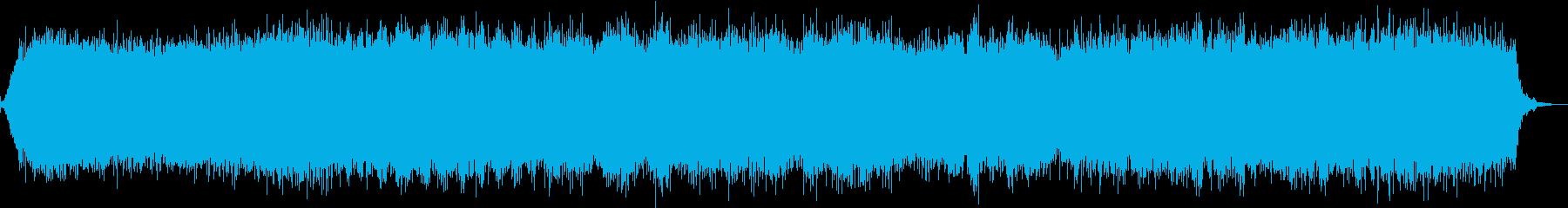 【生録音】ヘアドライヤーの音 ワイドの再生済みの波形