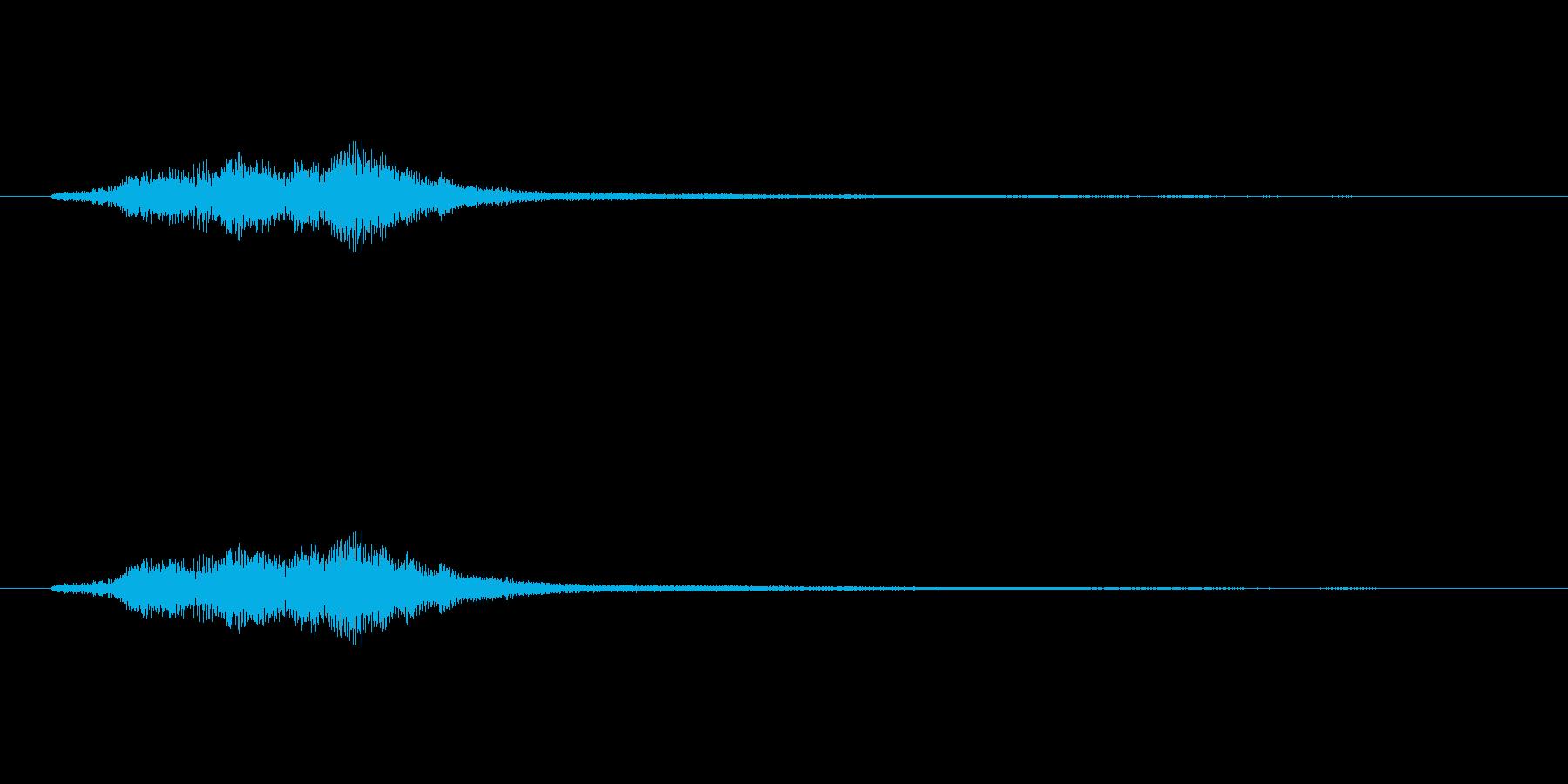 ハープグリッサンド上行3回~Fの再生済みの波形