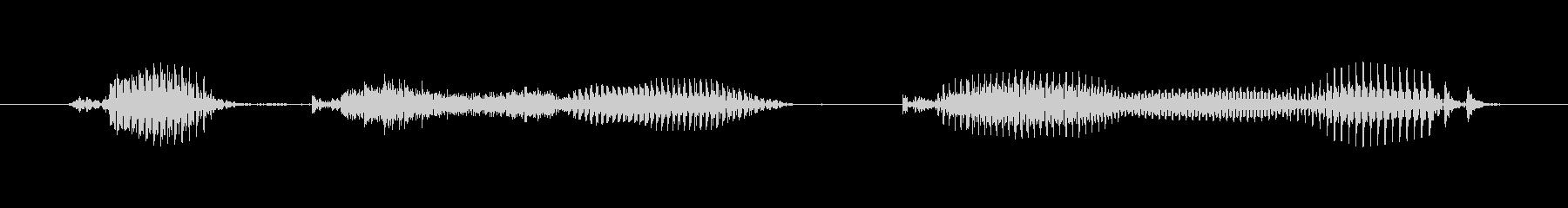 【日数・後】6週間後の未再生の波形