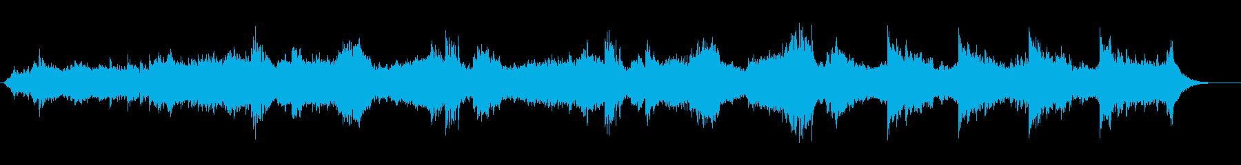 【サスペンス】不穏_不気味_ホラーの再生済みの波形