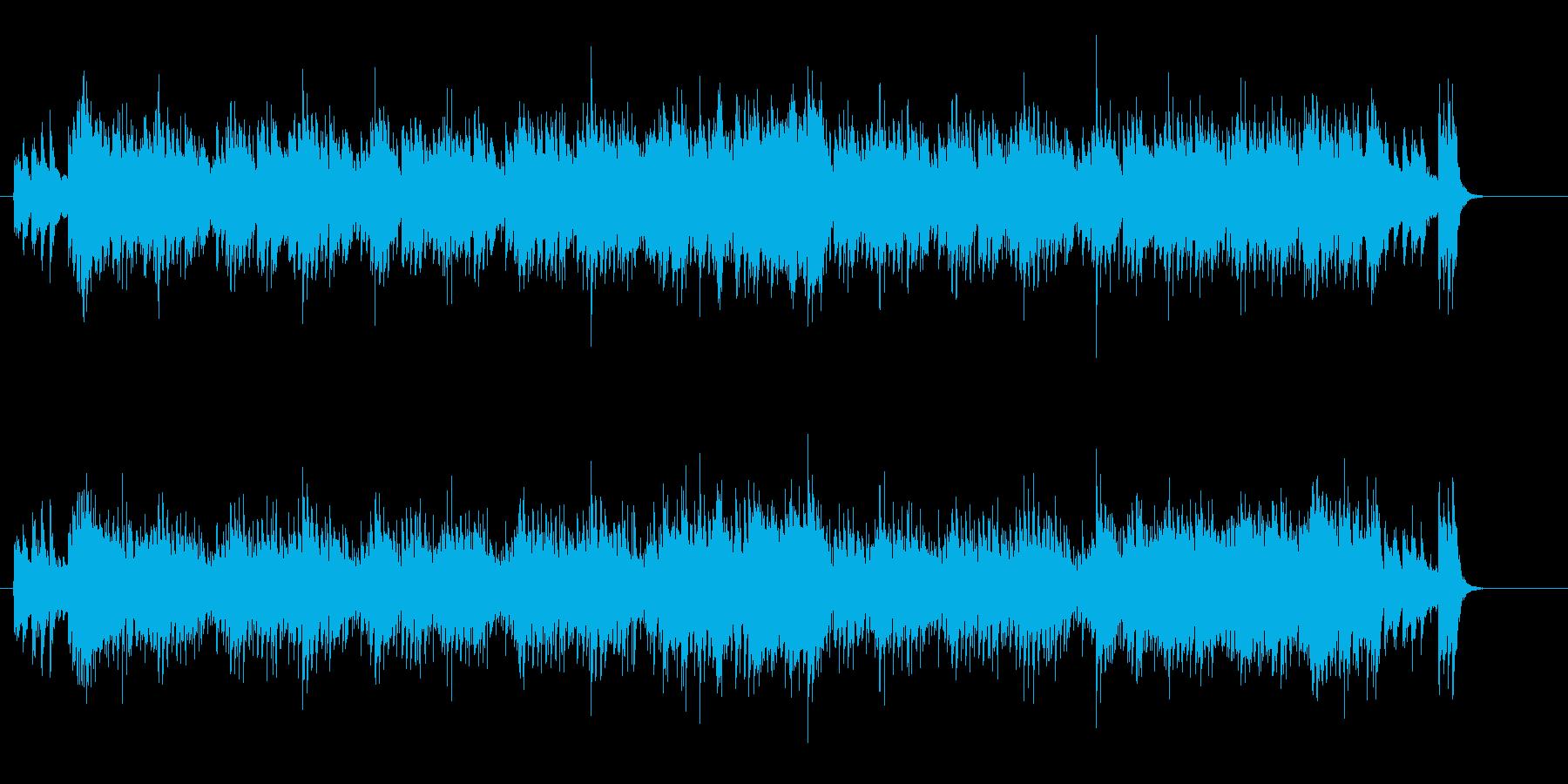 リズミカルでユーモラスなポップスの再生済みの波形