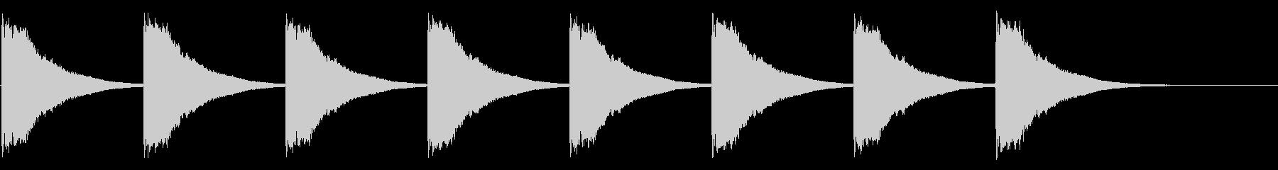 教会の鐘-7-1_delayの未再生の波形