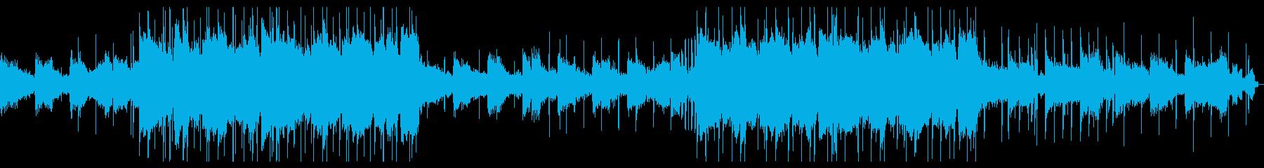 Lofiな癒し系CHILL HIPHOPの再生済みの波形