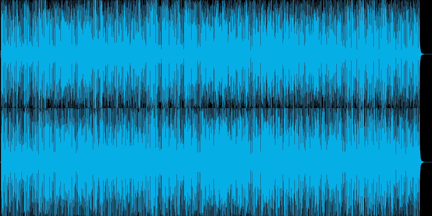 晴れの日のお散歩ポップ曲♬ハッピーな口笛の再生済みの波形