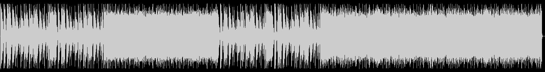 重厚/シンプル/ロック_No600_1の未再生の波形