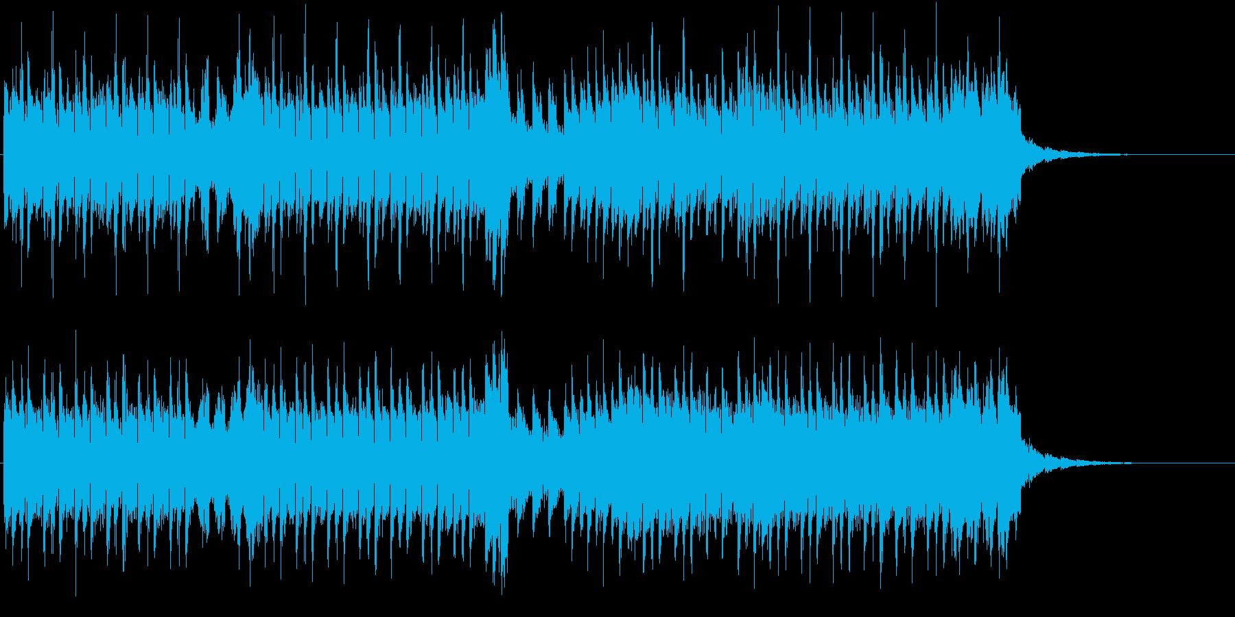 タイトルの通り和を意識して作りましたの再生済みの波形