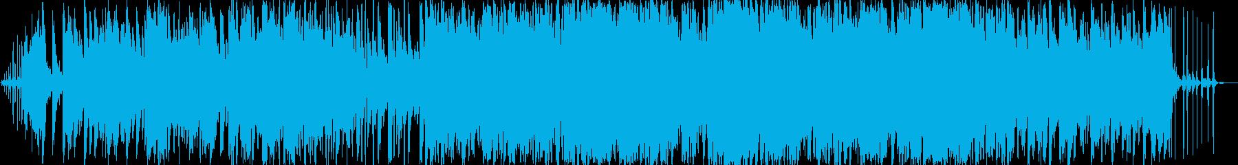 動物の鳴き声を使った子供向けマーチの再生済みの波形