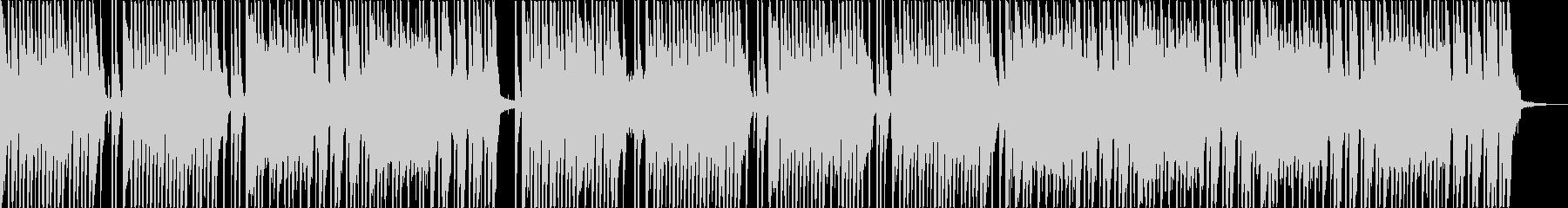 軽快なリズム 8ビート曲。の未再生の波形