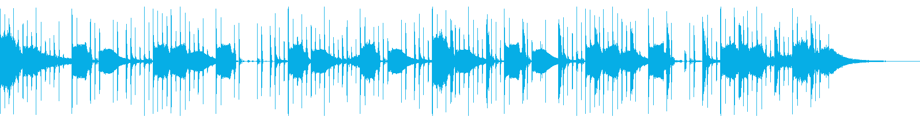 98 BPMの再生済みの波形