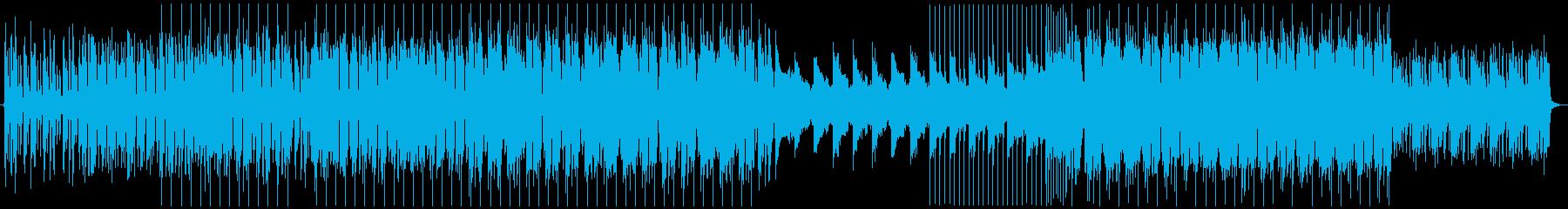 プログレッシブハウス・EDM 01の再生済みの波形