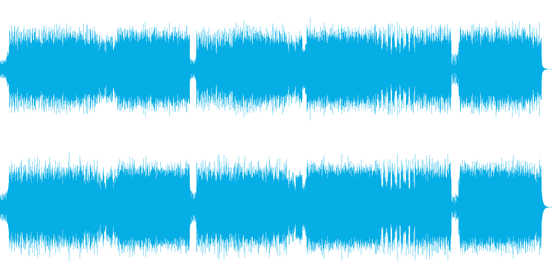 生演奏トランペット!力強いポップパンクの再生済みの波形