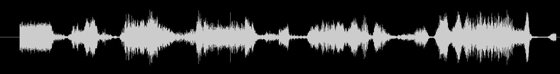 モンスター グリッチトーク07の未再生の波形