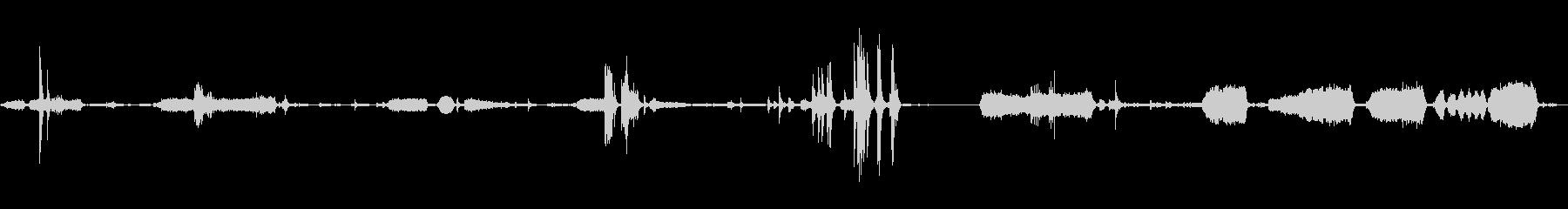 スクリュードライバー、電動、ハンド...の未再生の波形