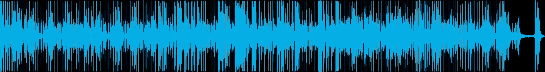 活気のあるクールなファンクスターの再生済みの波形