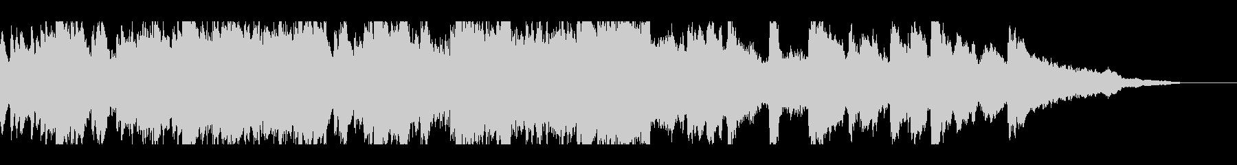 有名部分から始まるパッヘルベルのカノンの未再生の波形