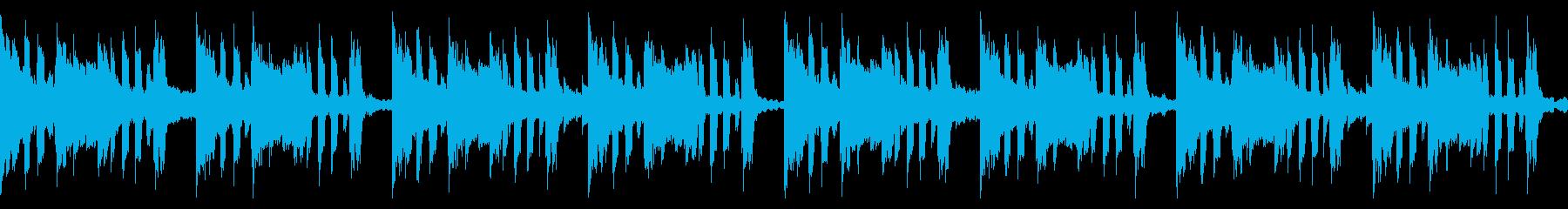 推理サスペンス【ループ1】ミステリー劇伴の再生済みの波形