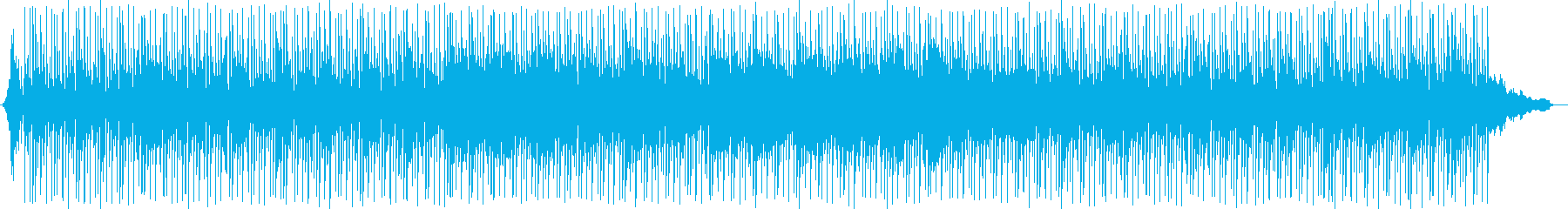 気だるい雰囲気のゆったりとしたルンバの再生済みの波形