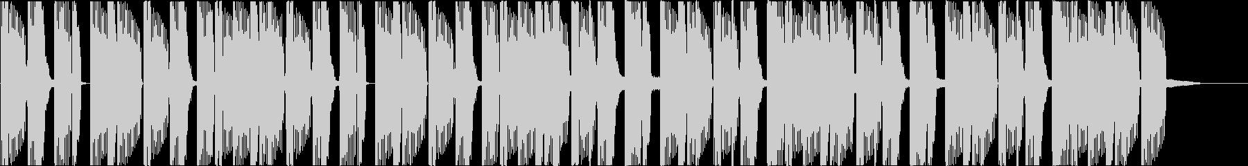 Deep bass-based electro jingle's unreproduced waveform