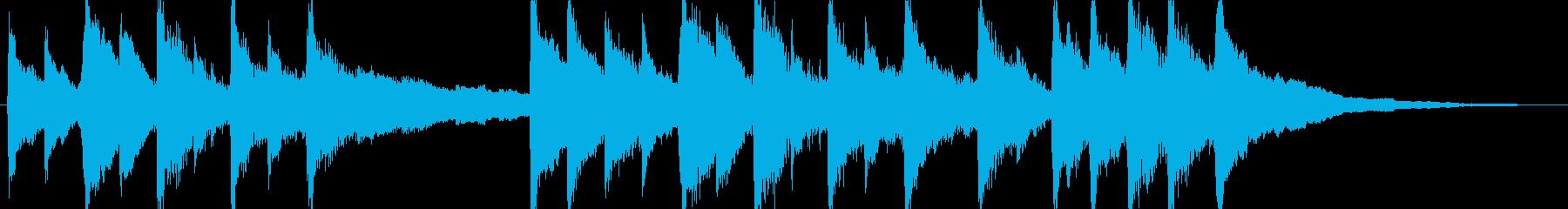 ジングル - 子守唄の再生済みの波形