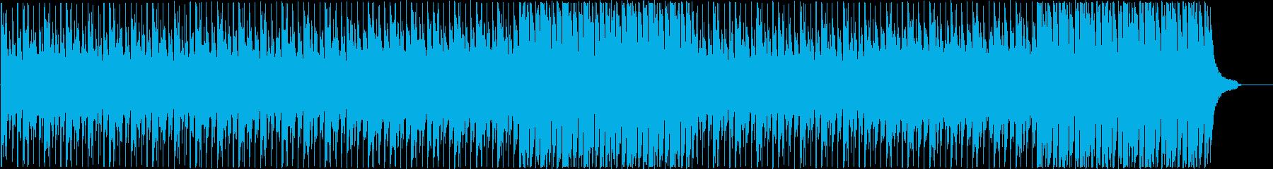 企業VPなどに わくわくドキドキな楽曲の再生済みの波形