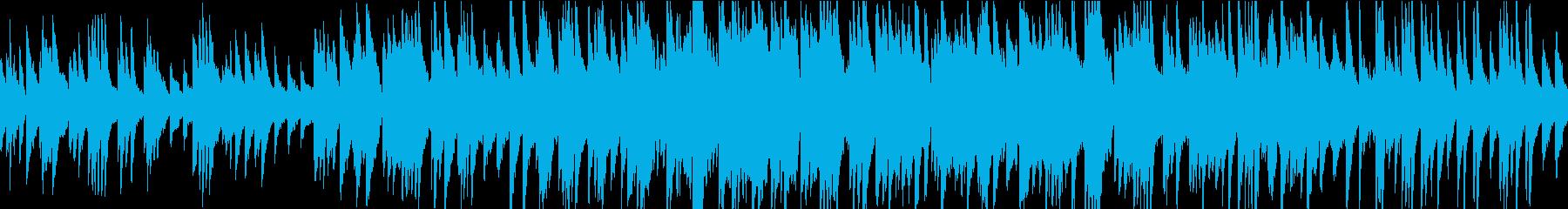 あたたかい雰囲気の感動演出バラードループの再生済みの波形