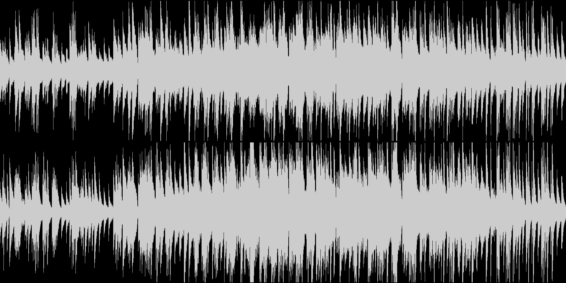 あたたかい雰囲気の感動演出バラードループの未再生の波形